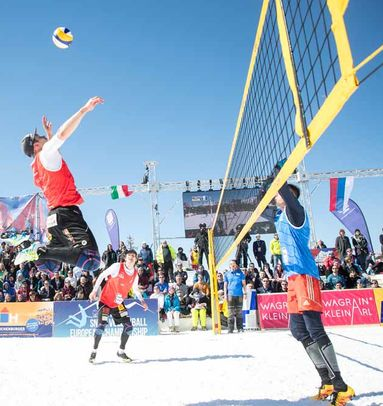 "Komplette Produktion: ""Snow Volleyball Worldtour 2019"" Wagrain 